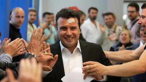Makedonias nye statsminister Zoran Zaev er villig til å ofre navnet for å bedre forholdet til Hellas og komme inn i Nato.