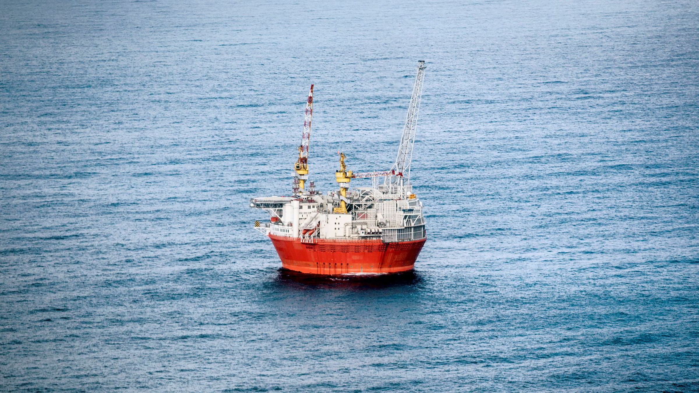 Oljeselskapet Eni får starte opp igjen skandaleplattformen Goliat.