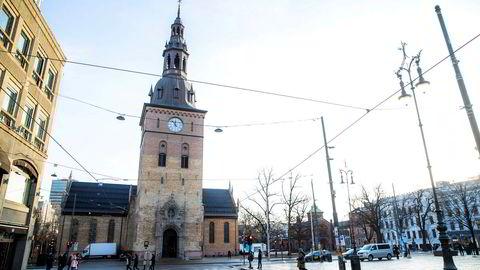 Ari Behn bisettes fra Oslo domkirke i Oslo fredag.
