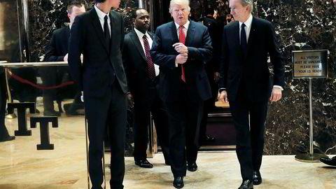 Russland skal sitte på graverende personlig og finansiell informasjon om USAs påtroppende president Donald J. Trump.
