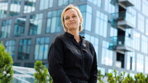 Jeanett Bergan, leder for ansvarlige investeringer i KLP, er overrasket over størrelsen på tapene til Equinor i USA. Til sammen har selskapet tapt 200 milliarder kroner.
