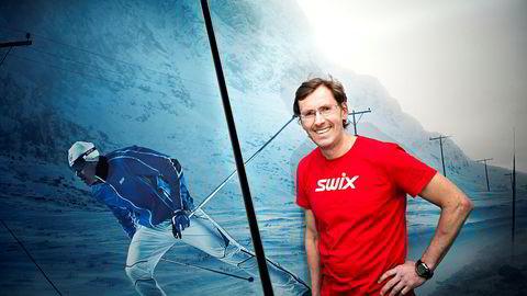 Swix-sjef Ulf Bjerknes er en av de store aktørene innen vintersportshandelen i Norge.