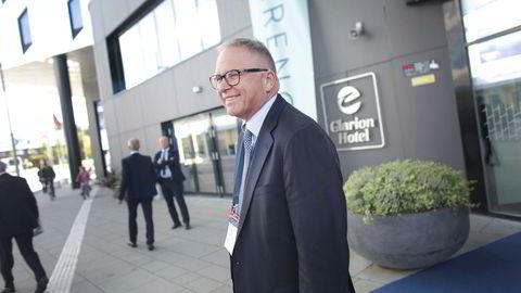 Statoils strategidirektør John Knight har gjentatte ganger skrytt av selskapets aksjeinvestering i oljeselskapet Lundin. Her fra oljemessen i Stavanger i august i fjor.
