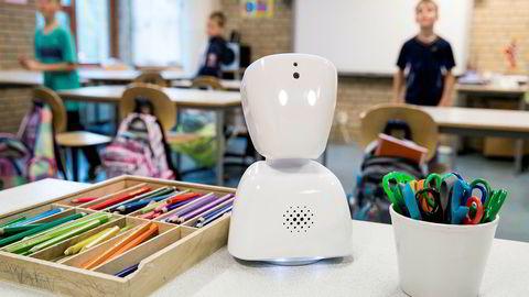 Roboten AV1 skal gjøre det mulig for langtidssyke barn å være til stede på skolen.