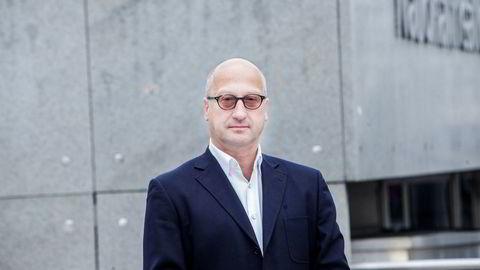 Partner og Chief Investment Officer i Arctic Asset Management, Albert Collett gir tillit til Aker BP den kommende uken. Foto: Adrian Nielsen ---
