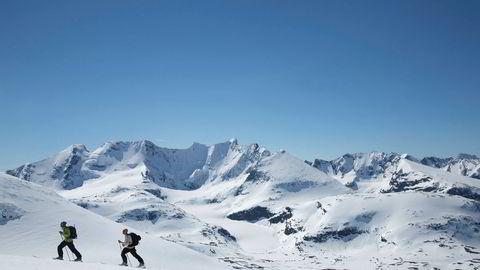 Turisttilstrømmingen til Norge har økt markant. Oppmerksomheten rundt norske fjell vokser både i Norge og utenlands. Her fra Hurrungane i Sogn og Fjordane.