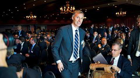 Pareto-topp Petter Dragesund har vært siktet i to år og er nå tiltalt for grovt bedrageri av inntil 188 millioner og markedsmanipulasjon. Bildet er fra Pareto-konferansen i 2012.