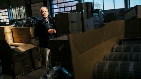 Eric Sandtrø, gründeren som tidligere startet Komplett, driver nå selskapet Fjellsport med stor suksess. Foto: Fartein Rudjord ---
