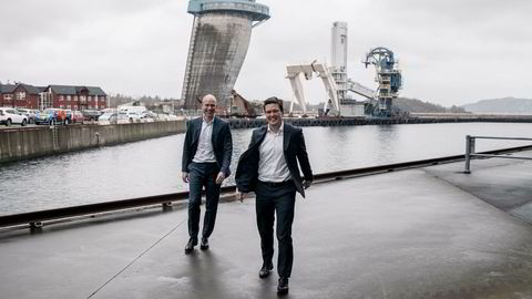 Advokatpartnerne Sverre Tyrhaug (til venstre) og Christian Hals i advokatselskapet Thommessen vil bli størst i Stavanger-regionen. I løpet av de neste ett til to årene vil de ha opp mot 25 nye advokater i oljebyen.