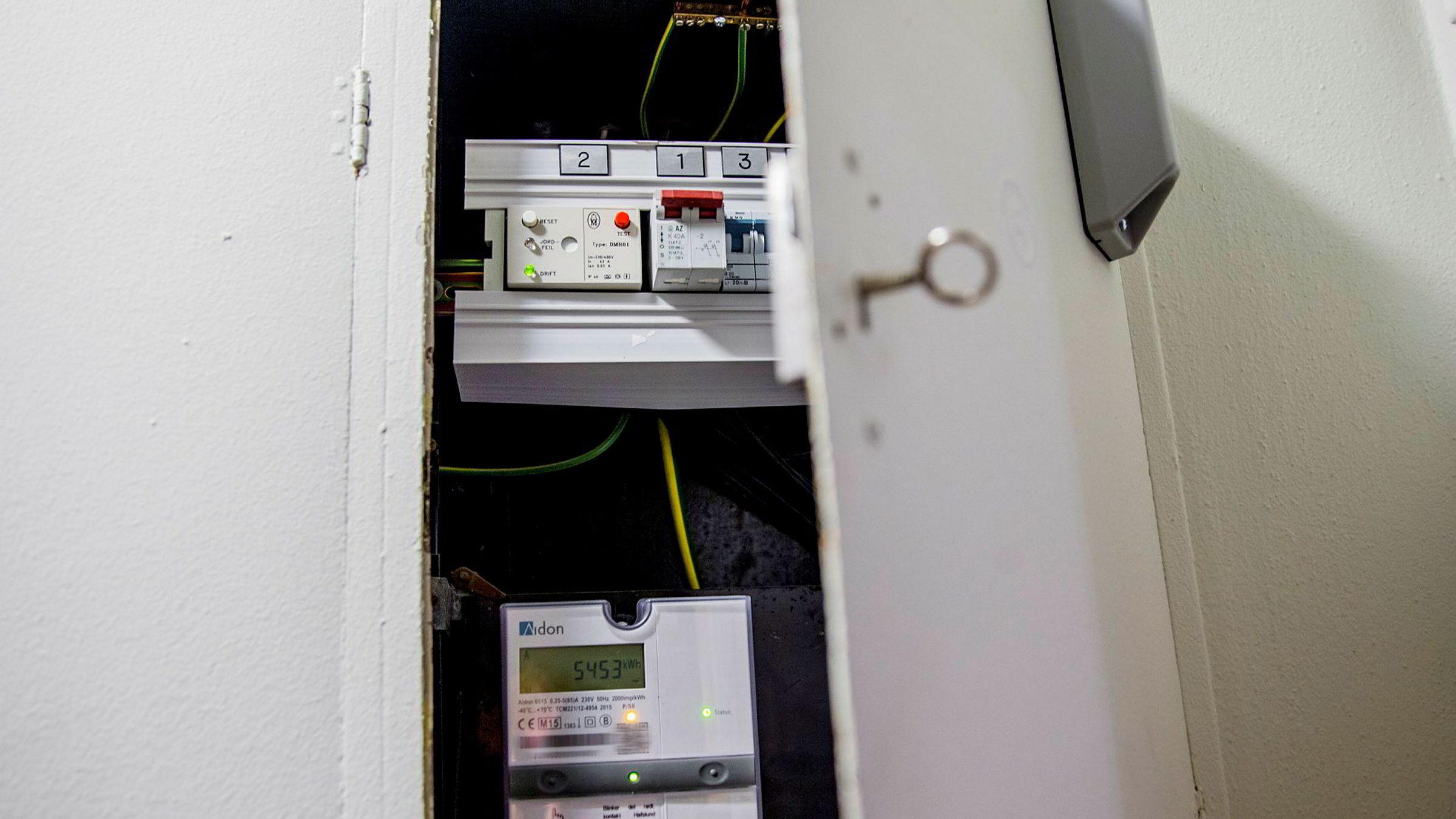 Selgeren av en bolig i Asker skulle vært flinkere til å lese av strømmåleren sin.