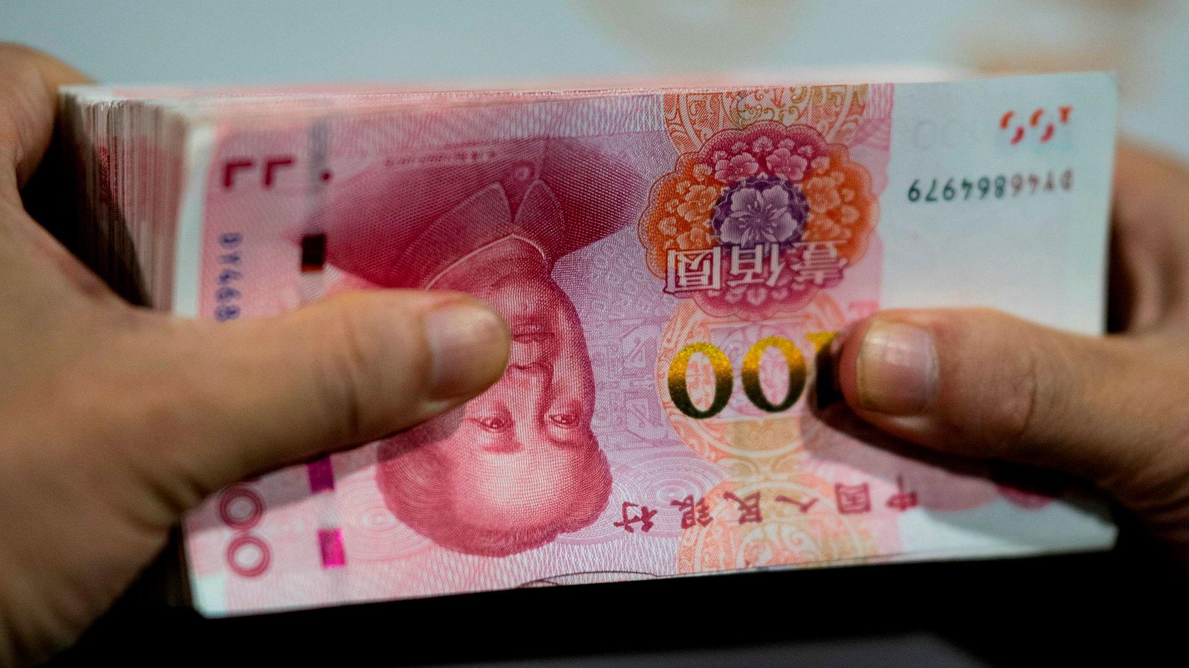 Kinesiske banker mottar rekordmange lånesøknader og det gis færre avslag. Kinesiske selskaper sliter med svak likviditet, ifølge siste utgave av China Beige Book.