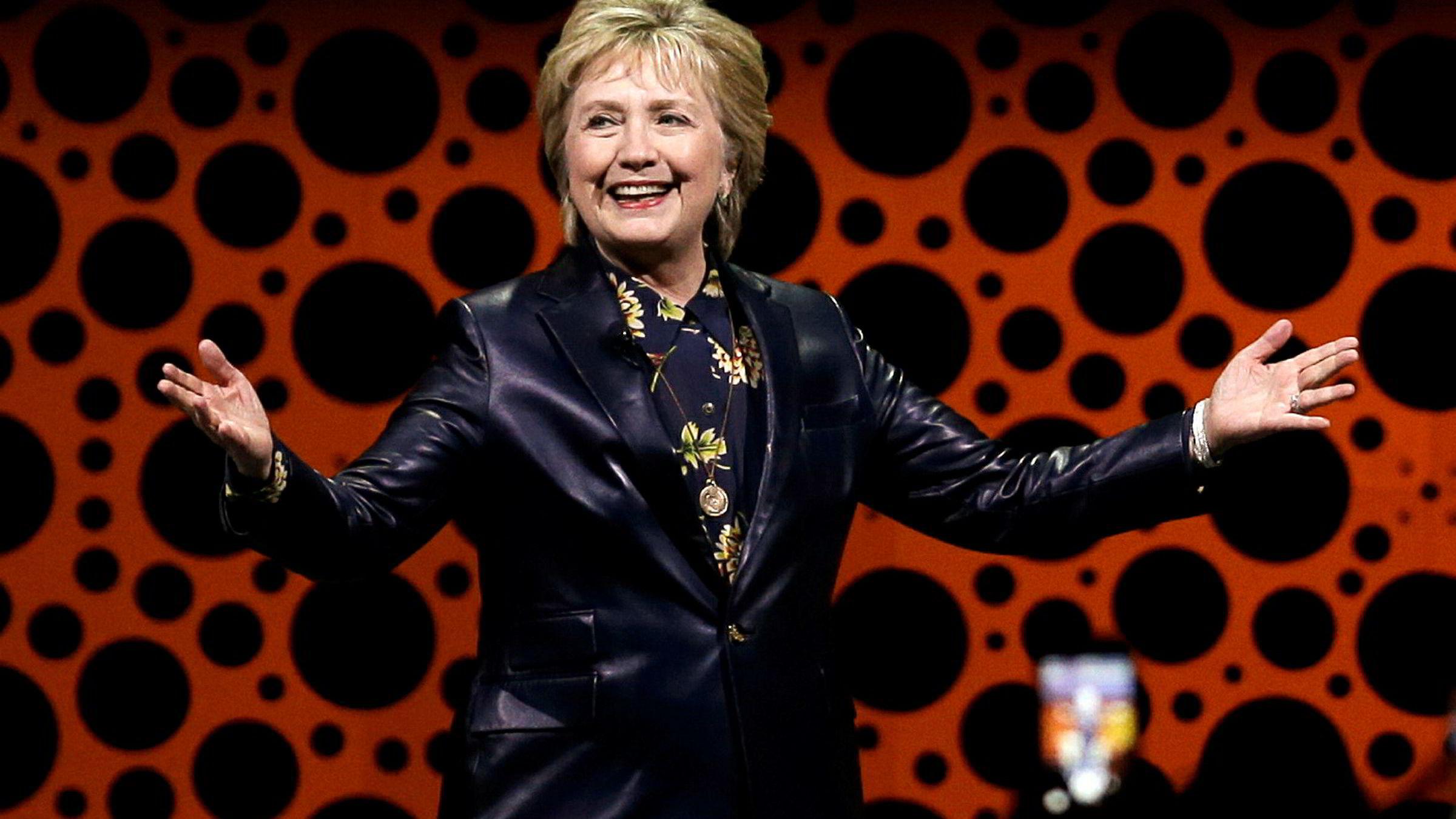 Hillary Clinton vil få flere folk politisk interessert og starter ny bevegelse.