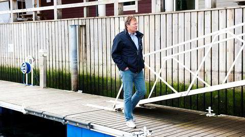 – Jeg var helt fortvilet. Du kan tenke deg hva som gikk gjennom hodet mitt, at du var nødt til å se selskapet gå ned, sier reder Stig Remøy i Olympic Shipping.