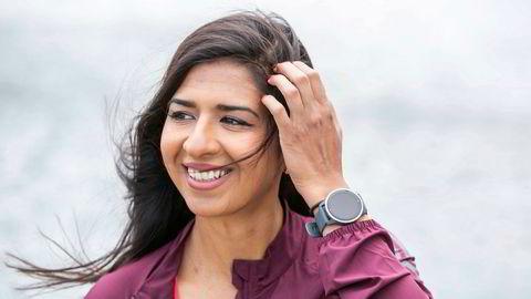 Jevi Majid oppdaget løping for tre år siden, og reagerte på at hun så få som så ut som henne ute på tur.