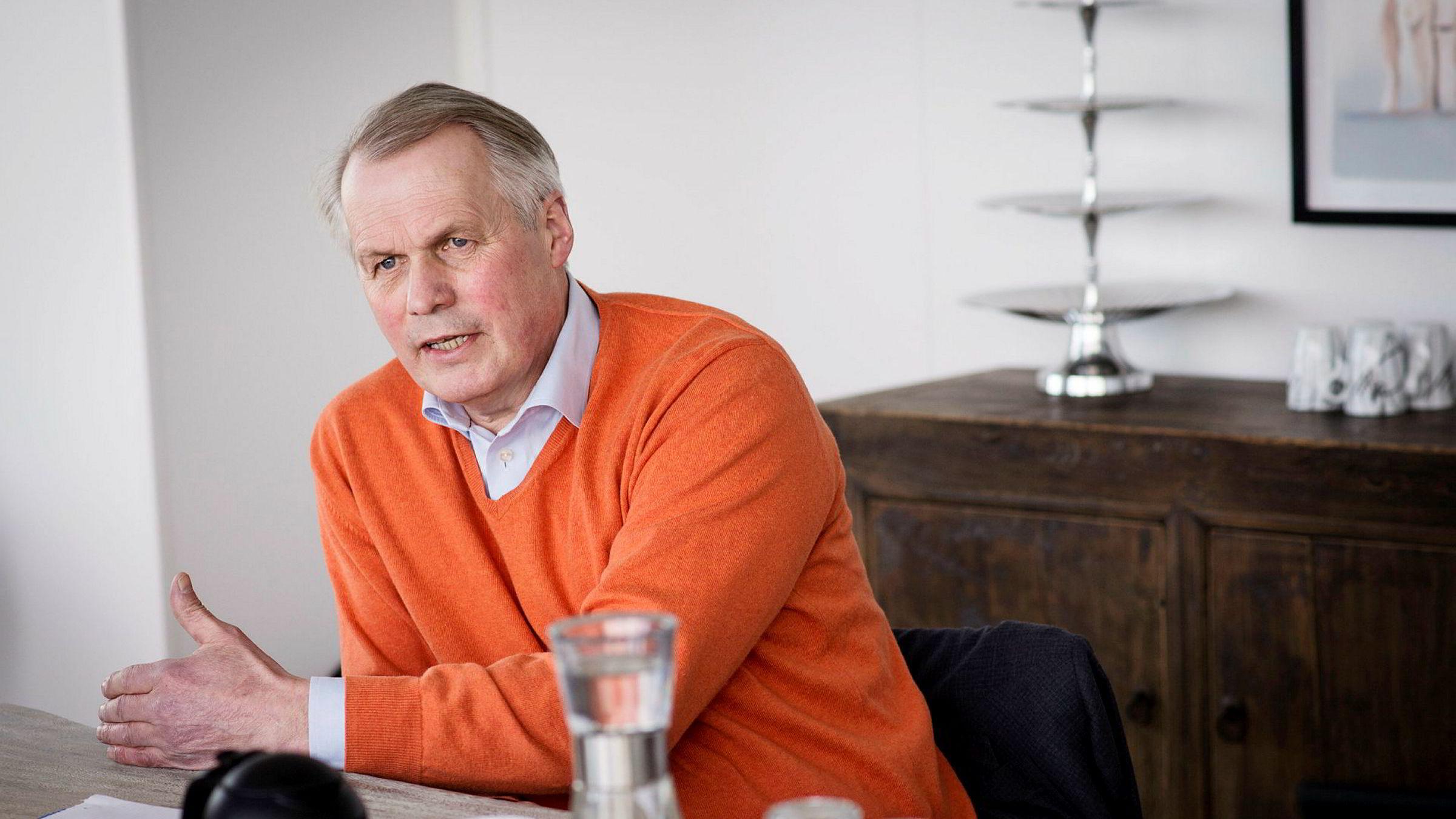 Resultatet i segment Nord-Norge er imidlertid meget svakt, sier Salmar-sjef Gustav Witzøe.