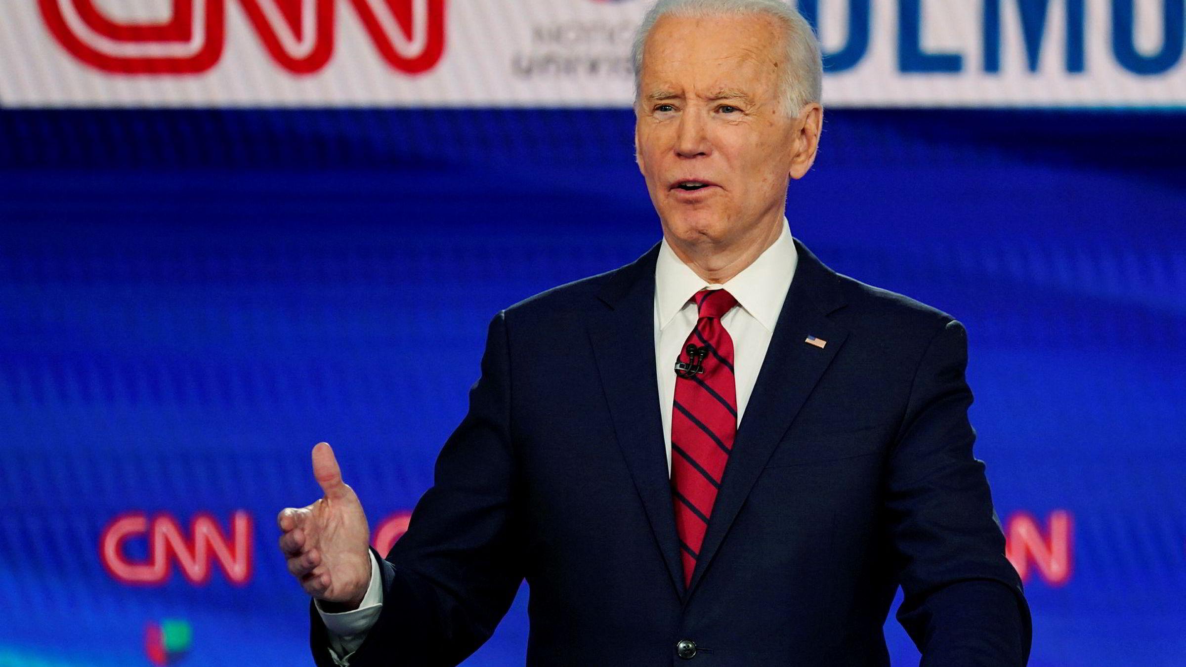 Joe Biden har vunnet primærvalget i Florida.