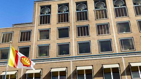 Shells hovedkvarter i Haag.