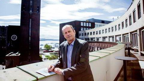 Administrerende direktør Kjell Roland i Norfund leverte rekordresultat i fjor.