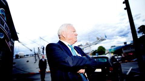 John Fredriksen er storaksjonær i Seadrill og jobber i disse dager med å redde boreselskapet.