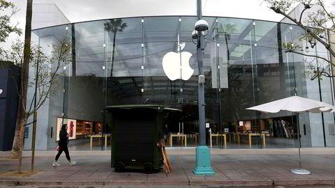 Apple er et av de store teknologiselskapene som har tapt mye penger siden koronakrisen startet.