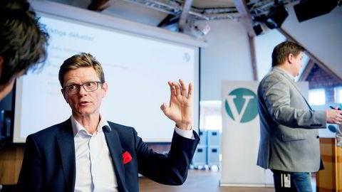 Venstre-nestleder Terje Breivik leder programkomiteen i partiet og kjemper mot et forslag om å øke skatten på primærboligen.