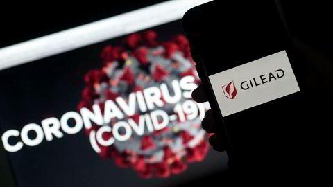 Det amerikanske farmasiselskapet Gilead forsøker å utvikle en ny medisin for korona.