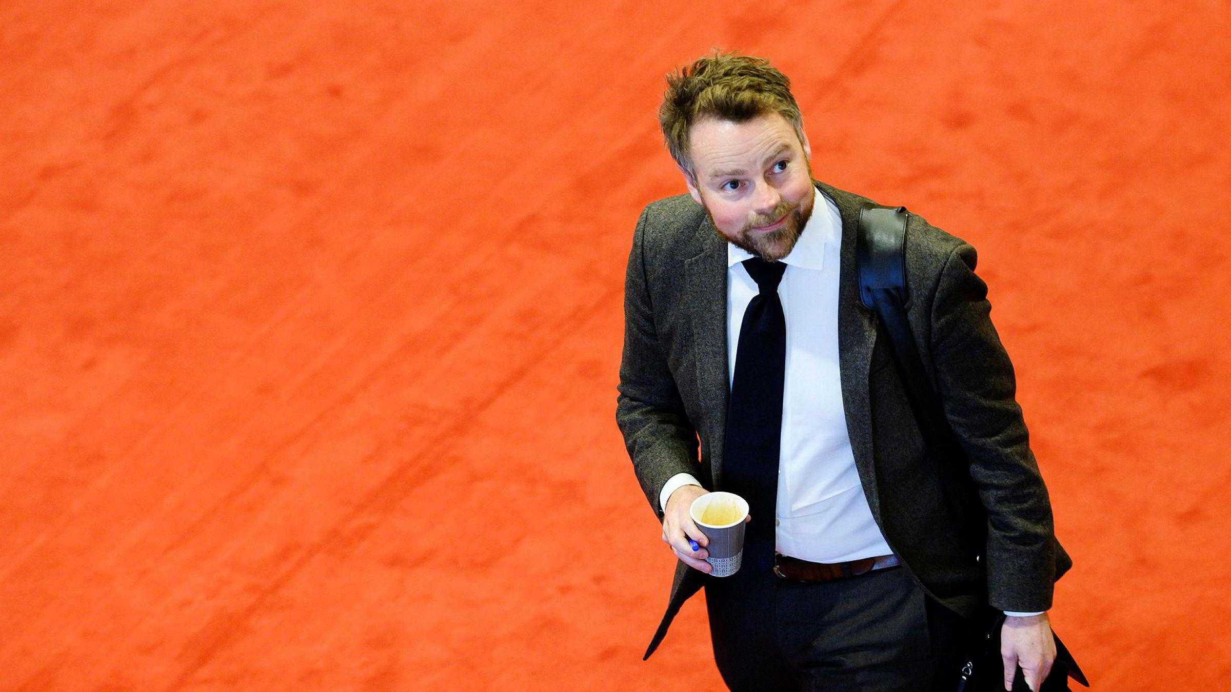 Arbeids- og sosialminister Torbjørn Røe Isaksen.