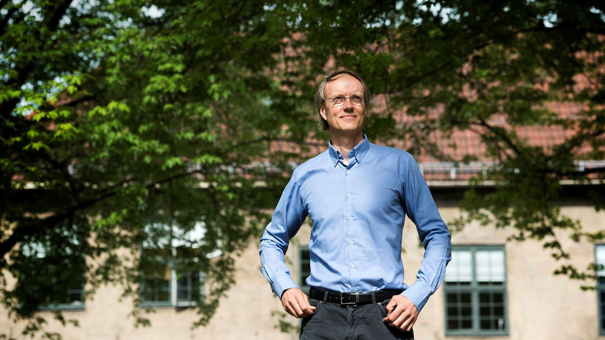 Bærekraftsinvestor Carsten Hjelde har tjent svært gode penger på å investere i miljøvennlige selskaper.