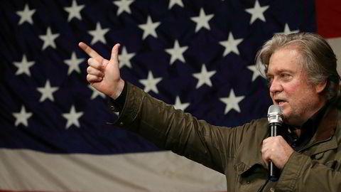 Stee Bannon, Donald Trumps tidligere sjefstrateg, er avhørt i to dager denne uken av teamet til spesialetterforsker Robert Mueller.