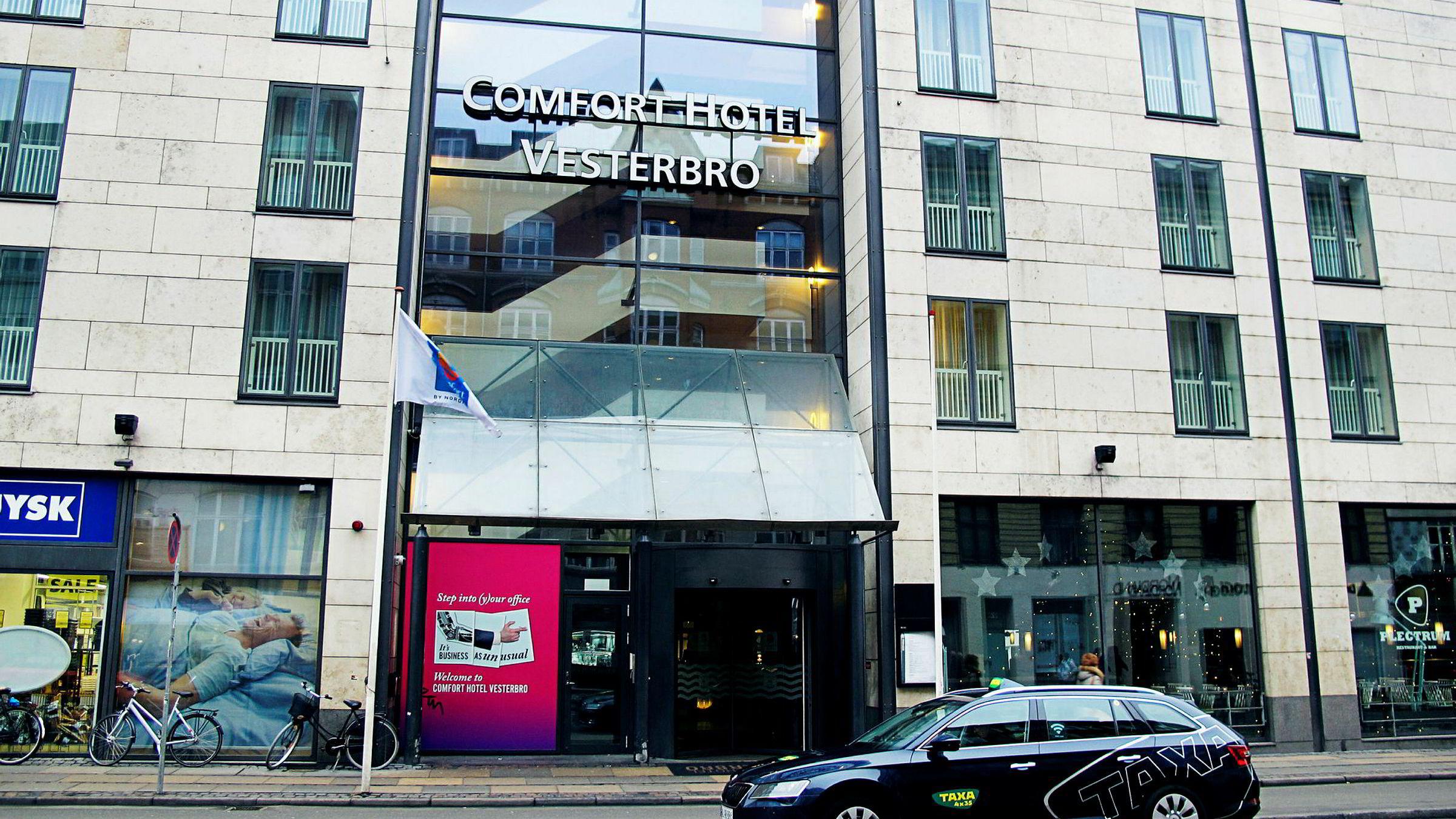 Petter A. Stordalens Comfort-hotell på livlige Vesterbro i København er et økonomihotell helt på det jevne.