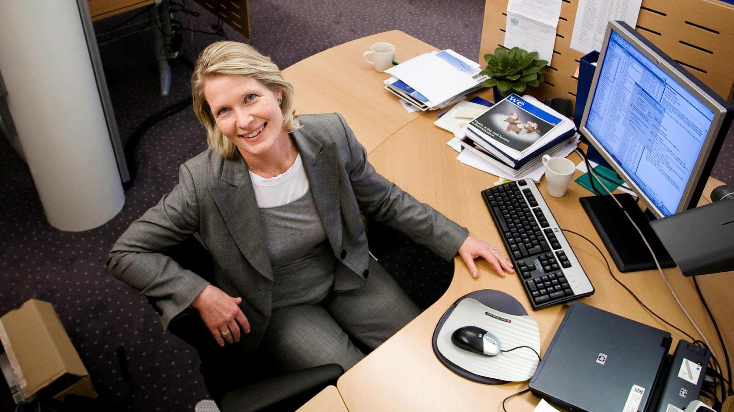 Cecilie. B. Heuch er HR-sjef i DNV GL. I desember går hun inn i Telenor-ledelsen. Foto: