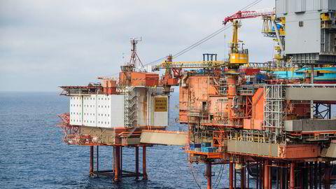 Kaefer Energy vil i løpet av året ansette minst 150 personer i sin oljeservicevirksomhet. En del av arbeidet skal gjøres for Aker BP. Her fra Aker BP-plattformen Valhall i Nordsjøen.
