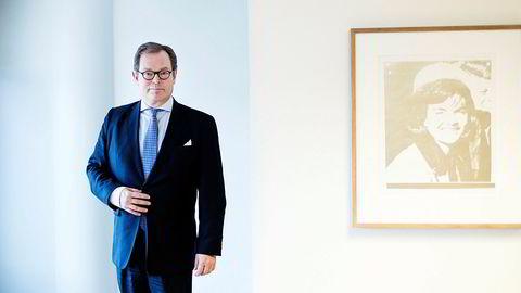 Knut Brundtland konsernsjef i ABG Sundal Collier legger frem gode resultater for tredje kvartal