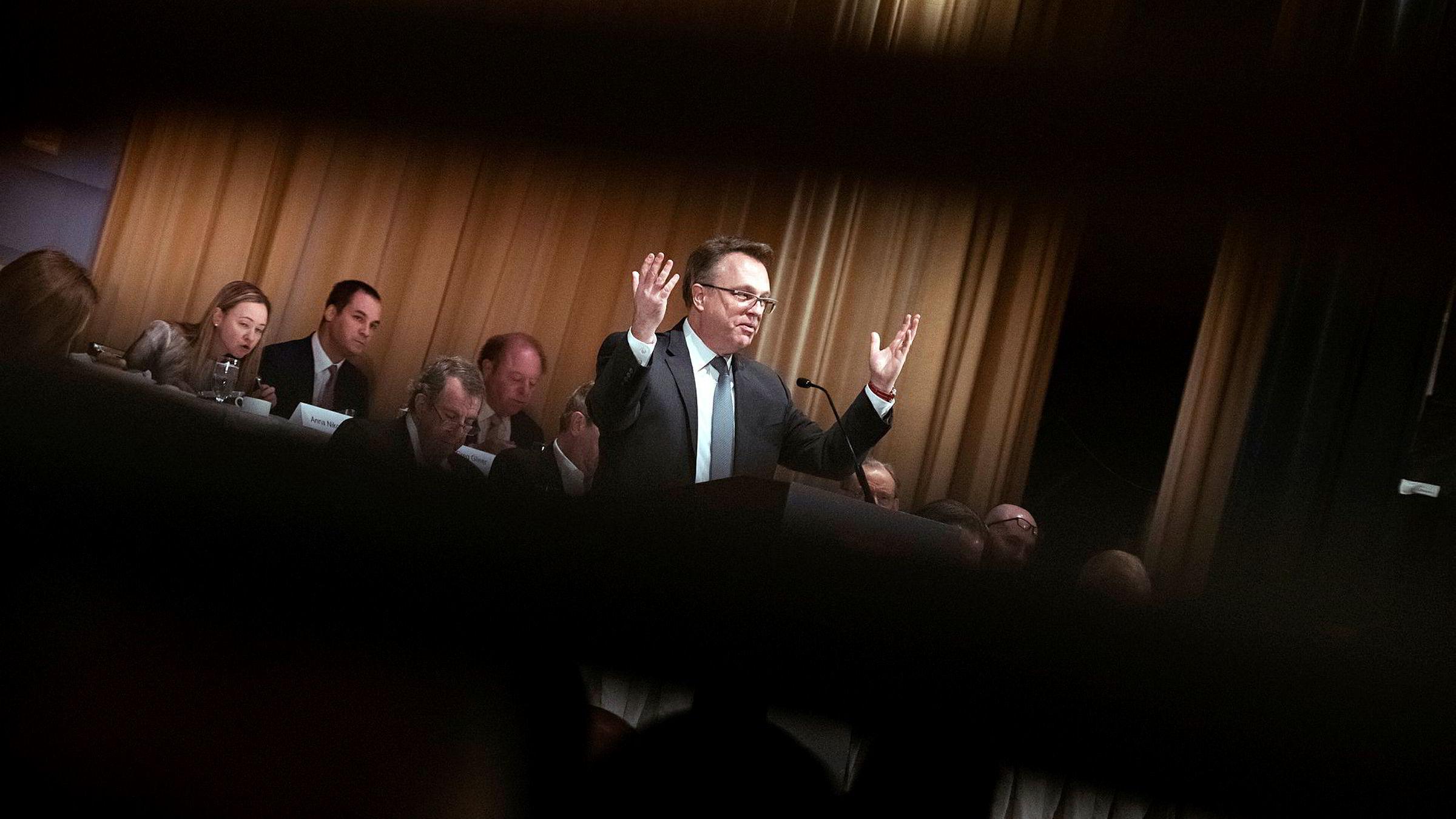 John Williams leder New York-avdelingen til den amerikanske sentralbanken.