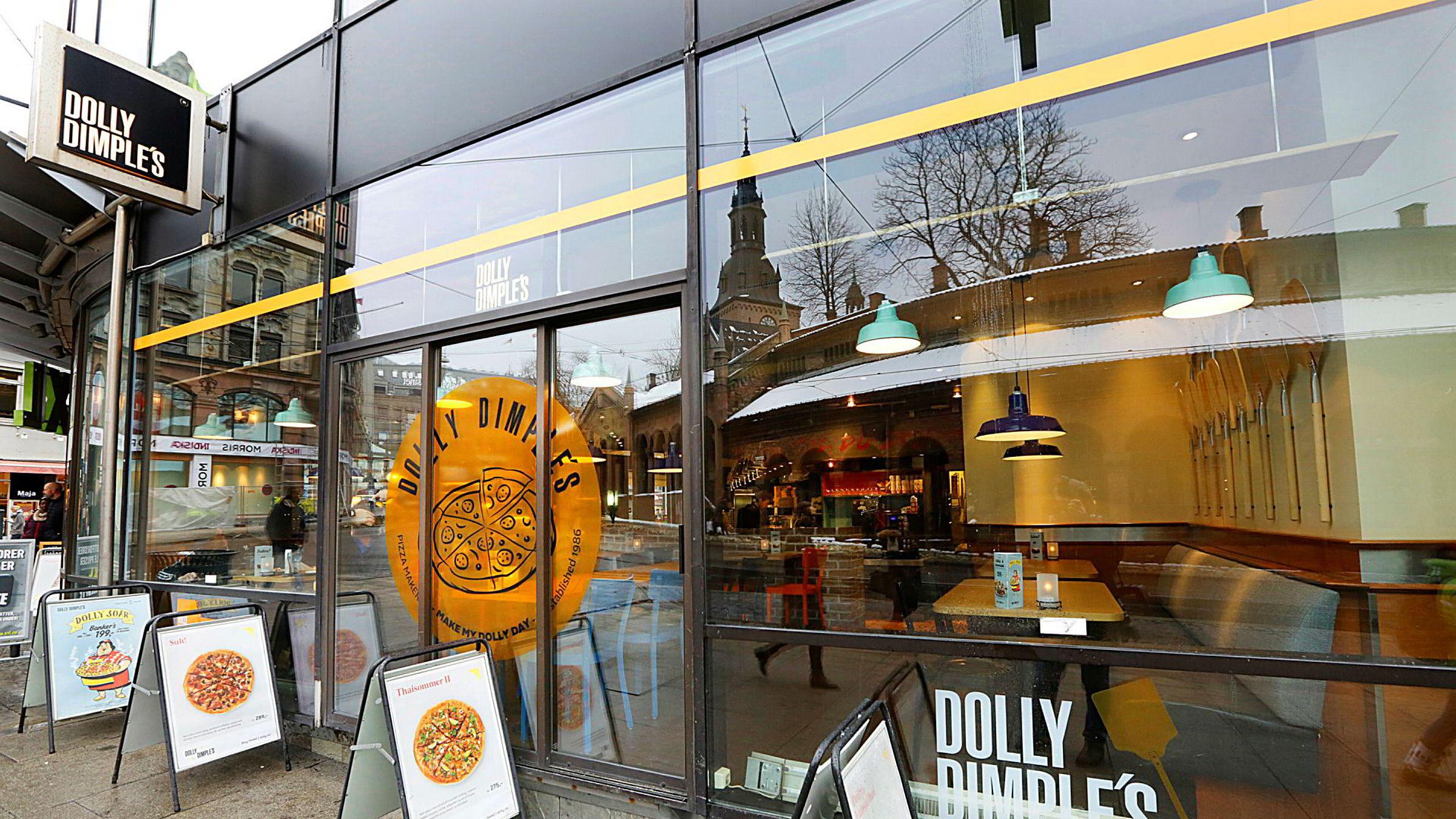 Domino's Pizza kjøper pizzakjeden Dolly Dimple's.