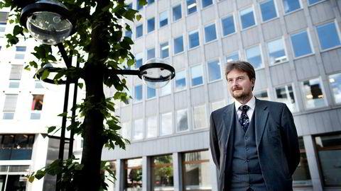 Arne Eidshagen fortsetter som fondsforvalter i Forte med ansvar for Forte Global. Dette bildet er fra 2012 da Eidshagen jobbet i Alfred Berg.