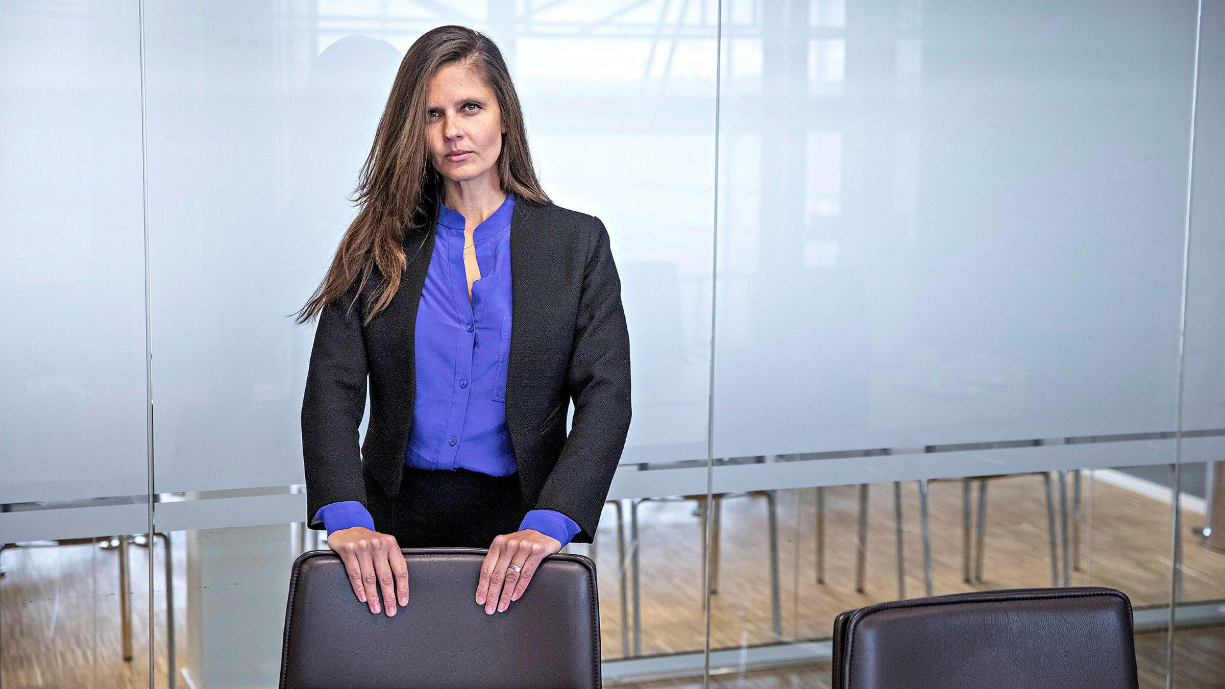 Oljeanalytiker Nadia Martin Wiggen i Pareto Securities er klart på at det vil ta tid for oljeprodusenter kommer seg helt tilbake.