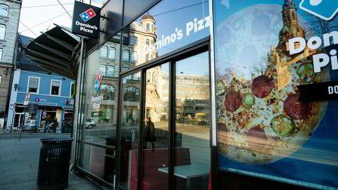 Per dags dato har Domino's 56 utsalgssteder i Norge, hvorav ni er Dolly Dimple's og 47 er Domino's.