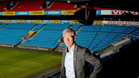 Leif Øverland er administrerende direktør i Norsk Toppfotball – interesseorganisasjonen for de to øverste divisjonene i Norge.