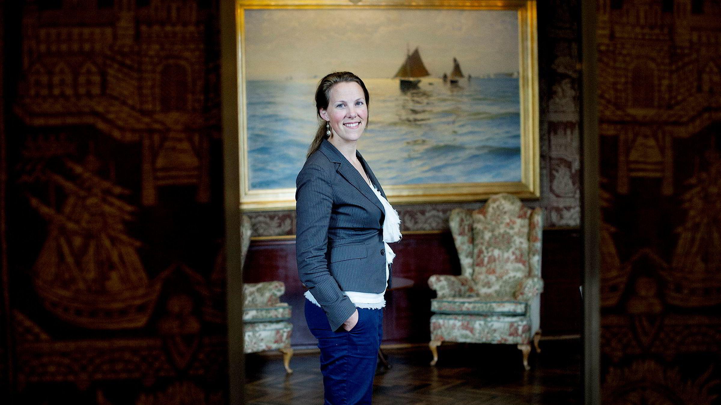 Shippingsjef Birgit M. Liodden blir forbannet når hun tenker tilbake på egne opplevelser med enkelte menn i shippingbransjen.