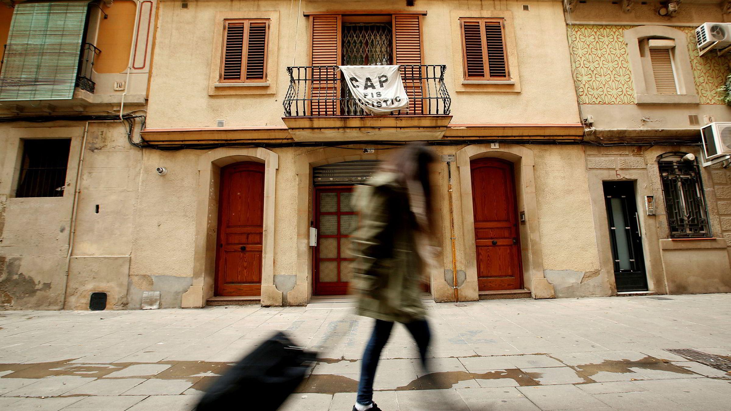 Illustrasjonsbilde fra Barcelona.