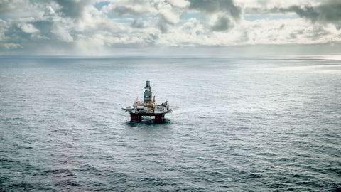 Riggen Songa Enabler, som er eid av Songa Offshore, har i sommer drillet etter olje i Barentshavet for Statoil.