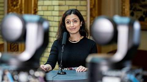 Nestleder Hadia Tajik (Aps) lover skattelette- og avgiftskutt til de med inntekter under 750.000 kroner.