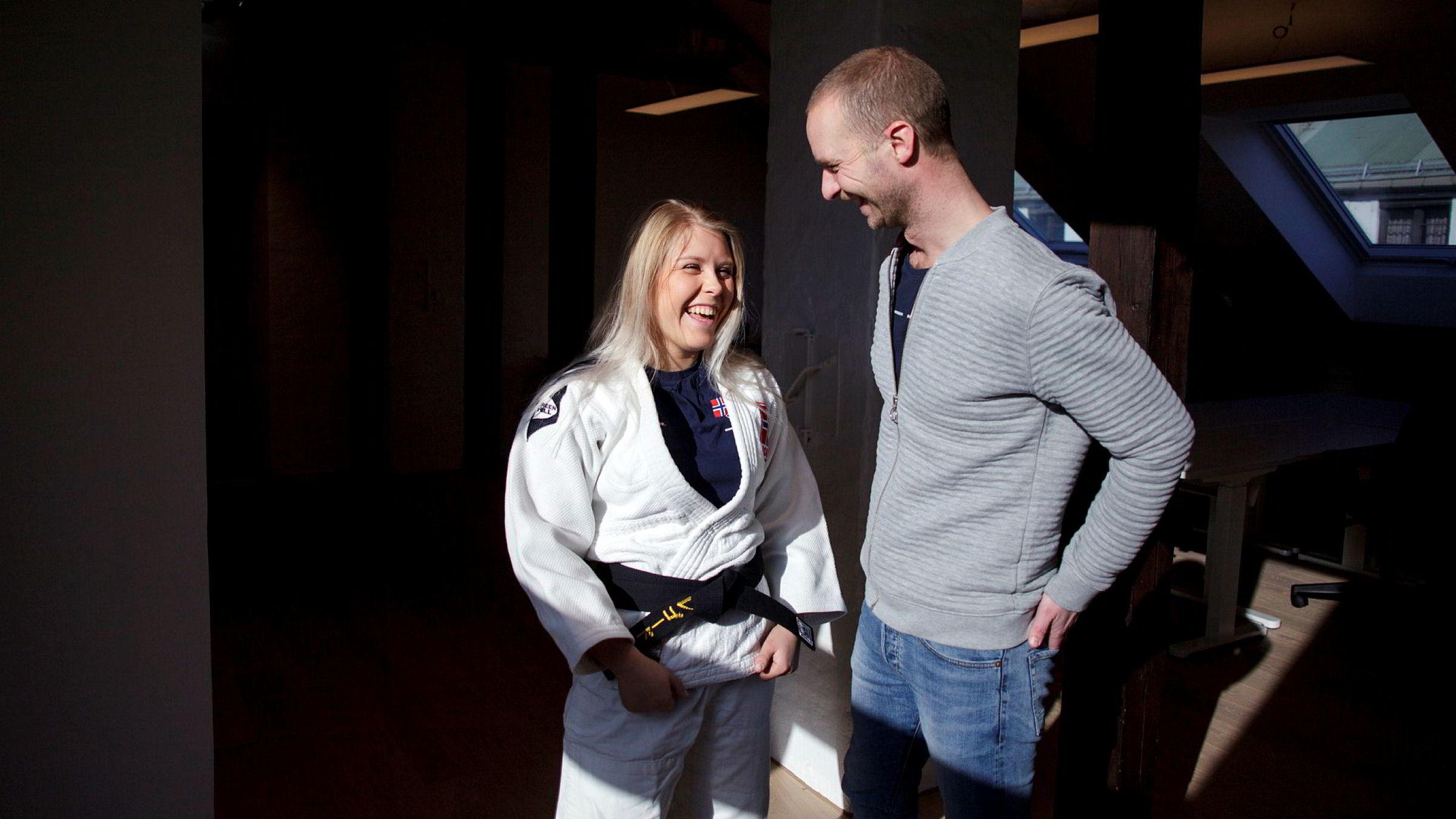 Thea Lillegaard bruker tjenesten til gründer Ola Akselberg og Sponsor.me for å finansiere satsingen sin på judo.