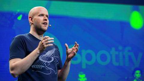 Daniel Ek, og hans medgründer har aksjer i Spotify for henholdsvis 60 og 30 milliarder kroner.