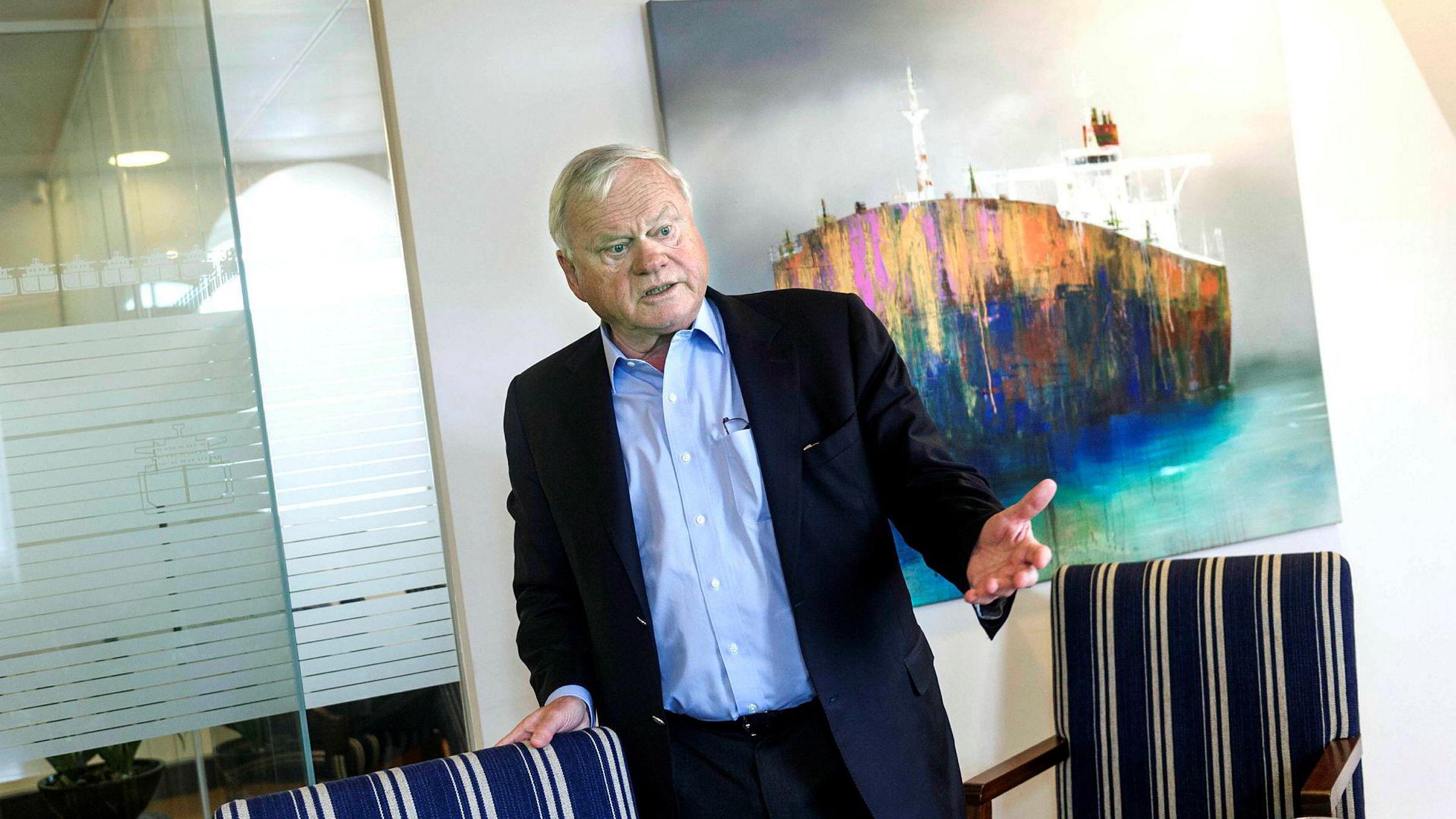 John Fredriksen hadde positive nyheter å dele tirsdag. Det tok markedet til seg.