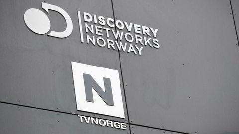 Logoen til Discovery Networks Norway og TVNorge.