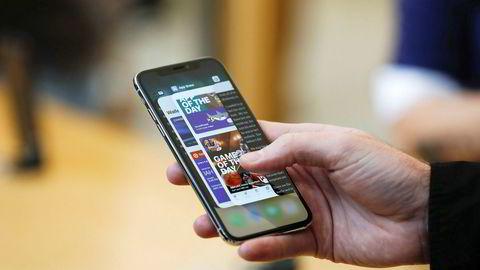Ny Iphone-lansering sender Apple rett opp.