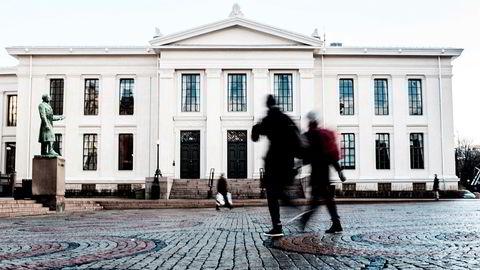 Juridisk fakultet i Oslo.