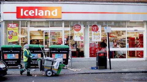 Slik presenterer dagligvarekjeden Iceland seg i hjemlandet England. Kjeden var i utgangspunktet en lavpriskjede, men har spesialisert seg på frossenvarer.
